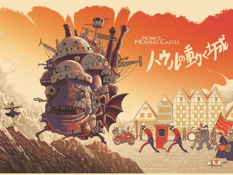 Howl's Moving Castle V.