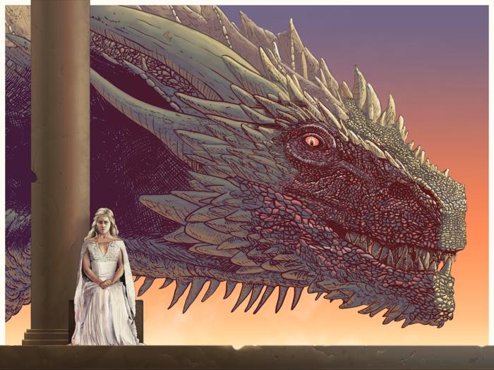 Game of Thrones – Drogon